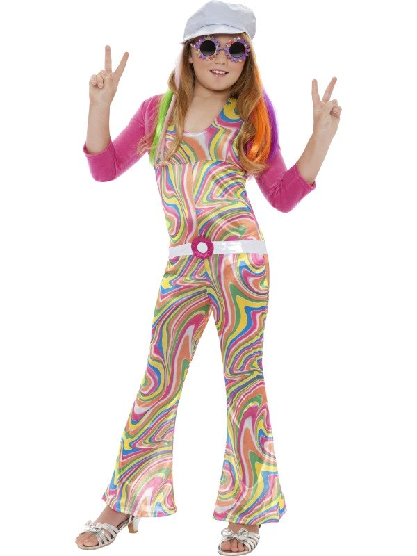 Kids Groovy Glam Fancy Dress Costume