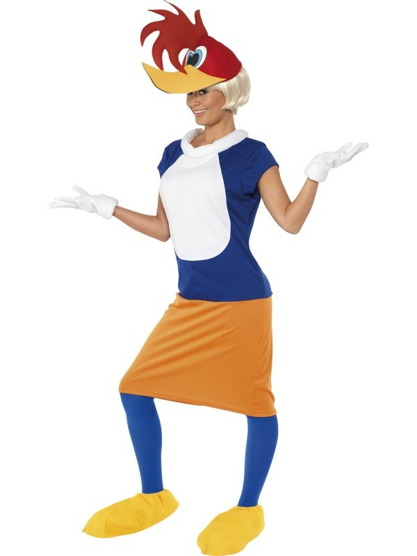 Winnie Woodpecker Fancy Dress Costume