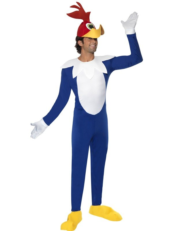 Woody Woodpecker Fancy Dress Costume