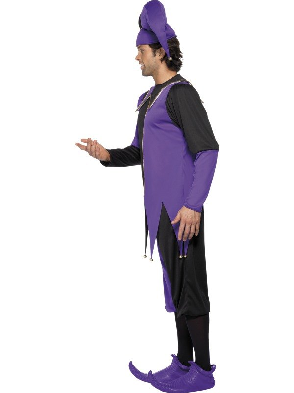 NEW Adult Funny Medieval Court Jester Mens Fancy Dress Stag Party ...