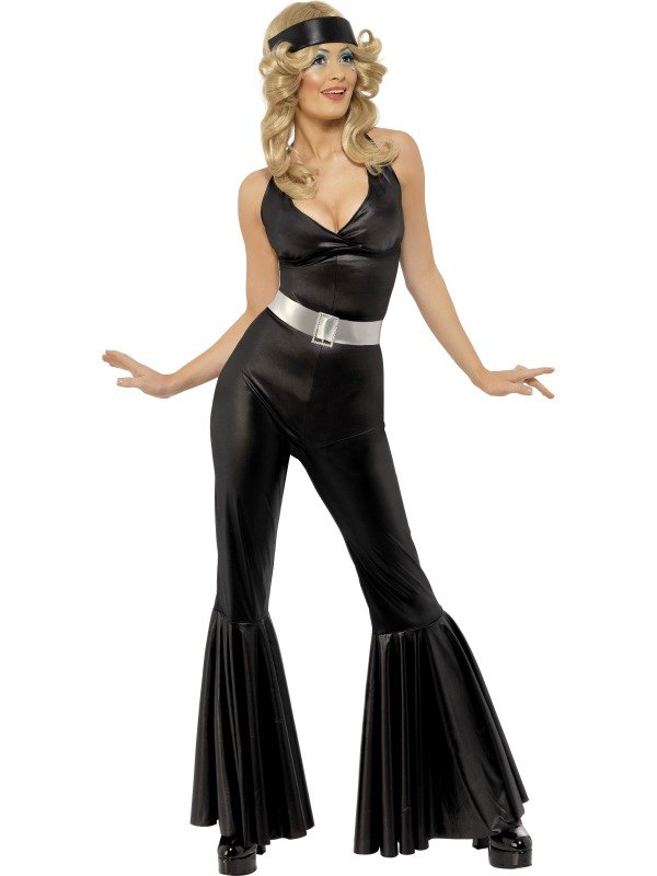 70s Diva Catsuit Fancy Dress Costume