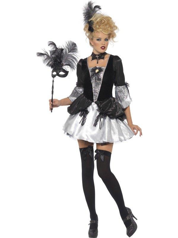 Fever Baroque Fancy Dress Costume