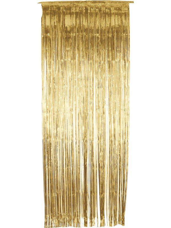 Shimmer Curtain Gold