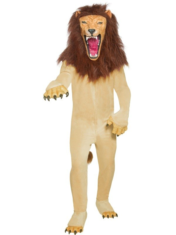Vicious Circus Lion Fancy Dress Costume
