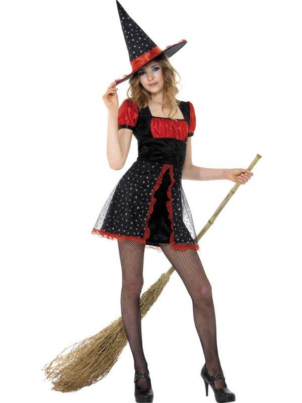 Star Witch Fancy Dress Costume