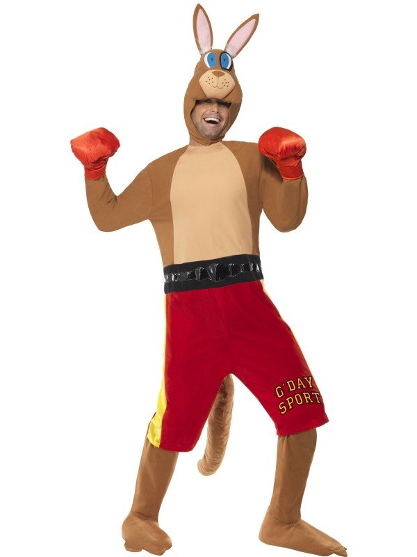 Kangaroo Boxer Fancy Dress Costume