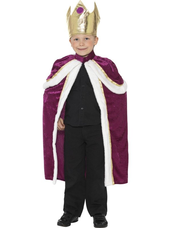 Kiddy King Fancy Dress Costume