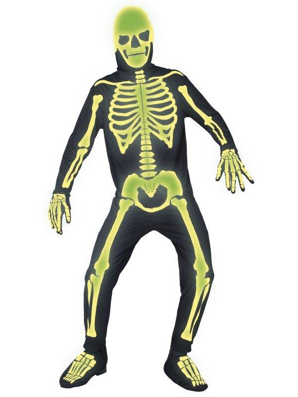 Graveyard Bones Fancy Dress Costume