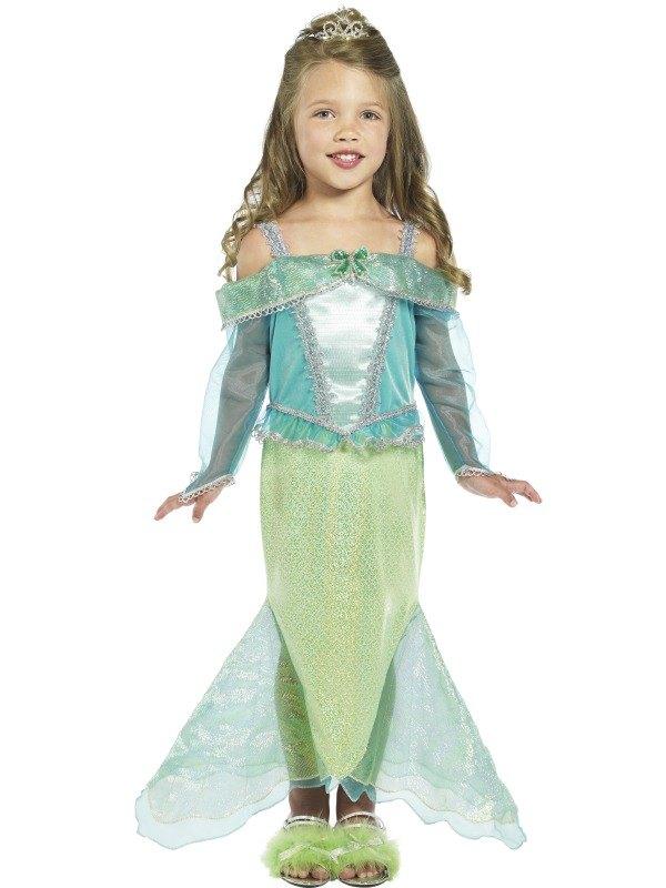 Girls Mermaid Princess Fancy Dress Costume
