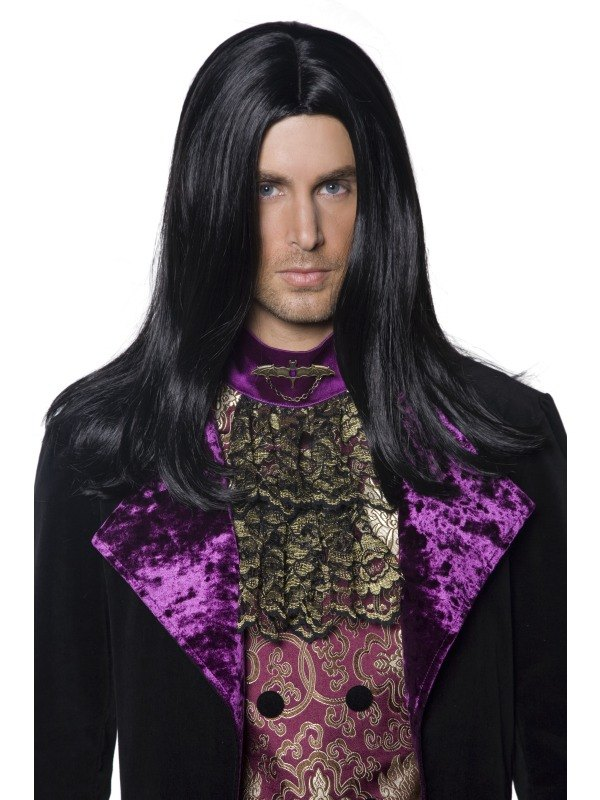 Gothic Count Fancy Dress Wig