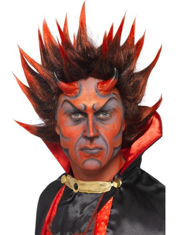 Devil Punky Fancy Dress Wig