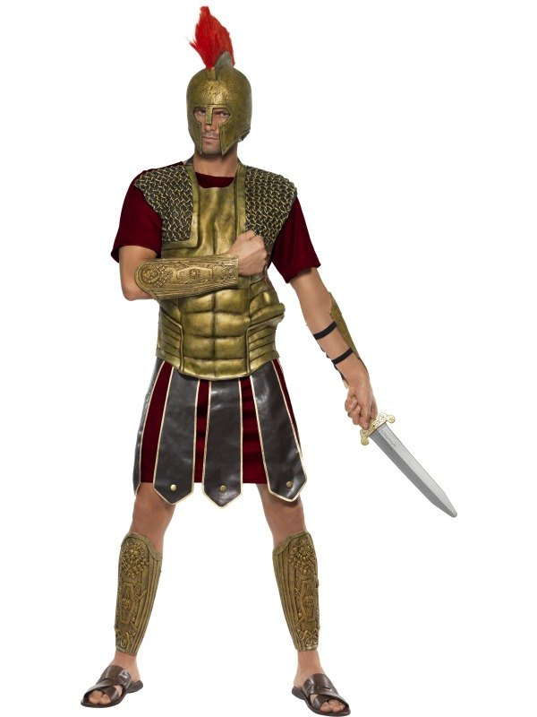 Perseus The Gladiator Fancy Dress Costume