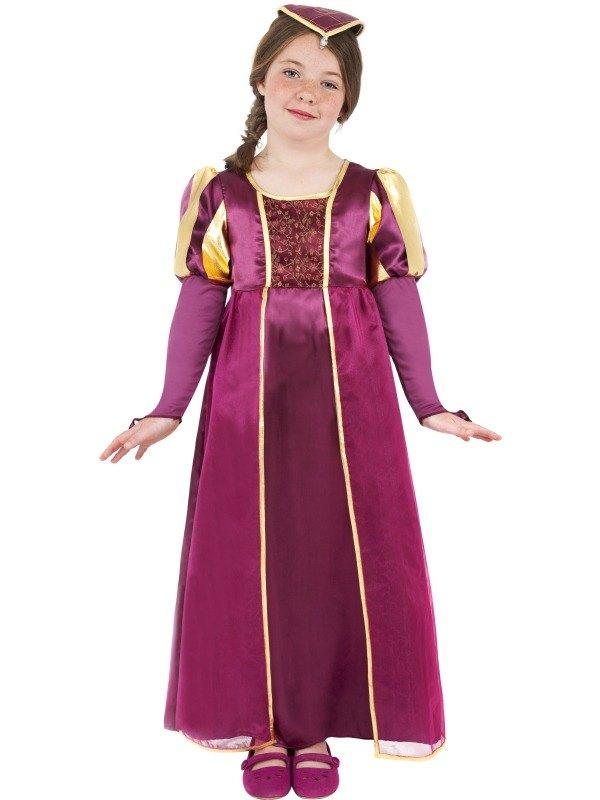 Tudor Girl Fancy Dress Costume