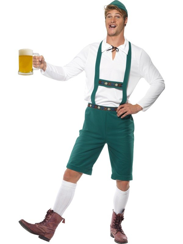 Male Oktoberfest Fancy Dress Costume