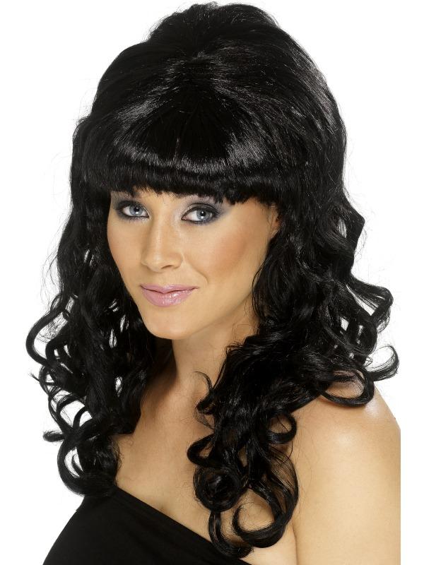 Beehive Beauty Wig Black