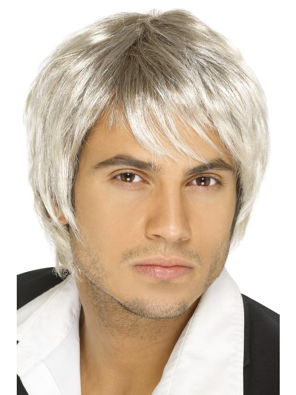 Boy Band Wig Light Blonde