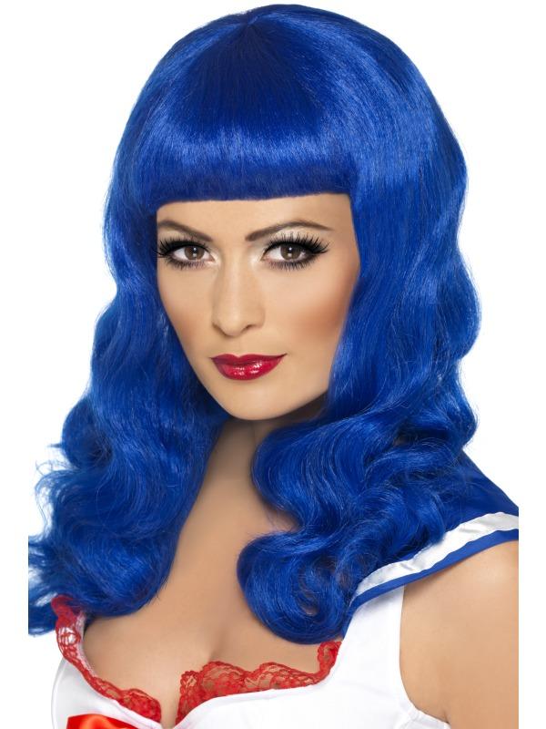 Sweetheart Wig Blue