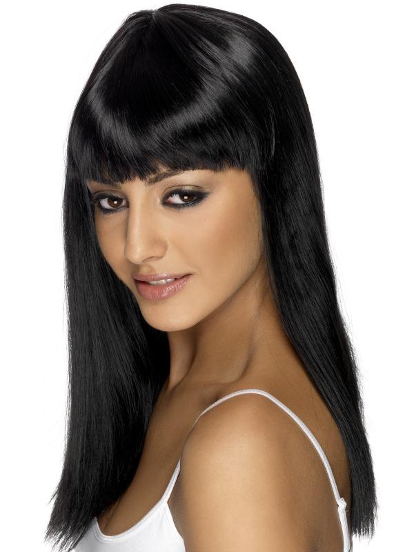 Glamourama Wig Black