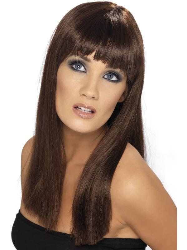 Glamourama Wig Brown