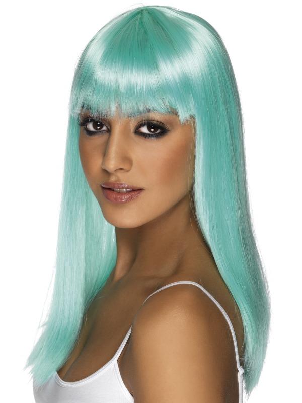 Glamourama Wig Aqua