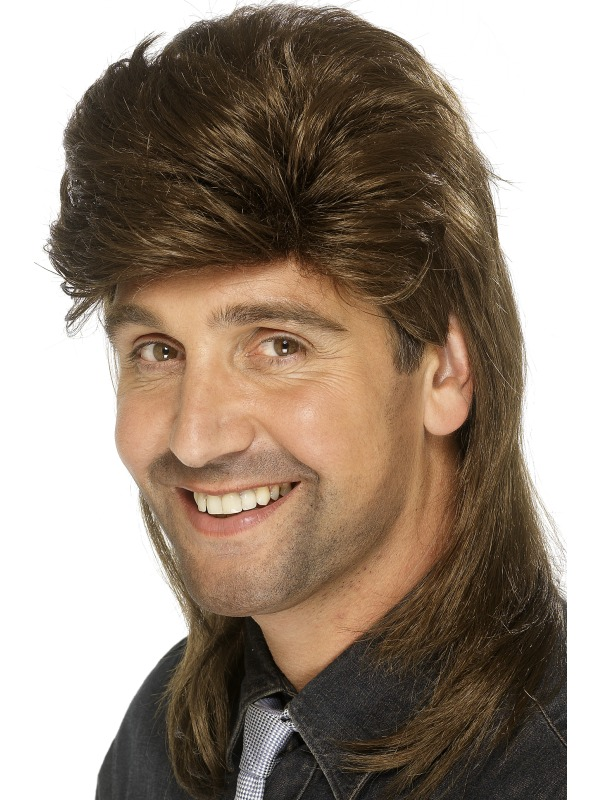 Mullet Wig Dark Brown