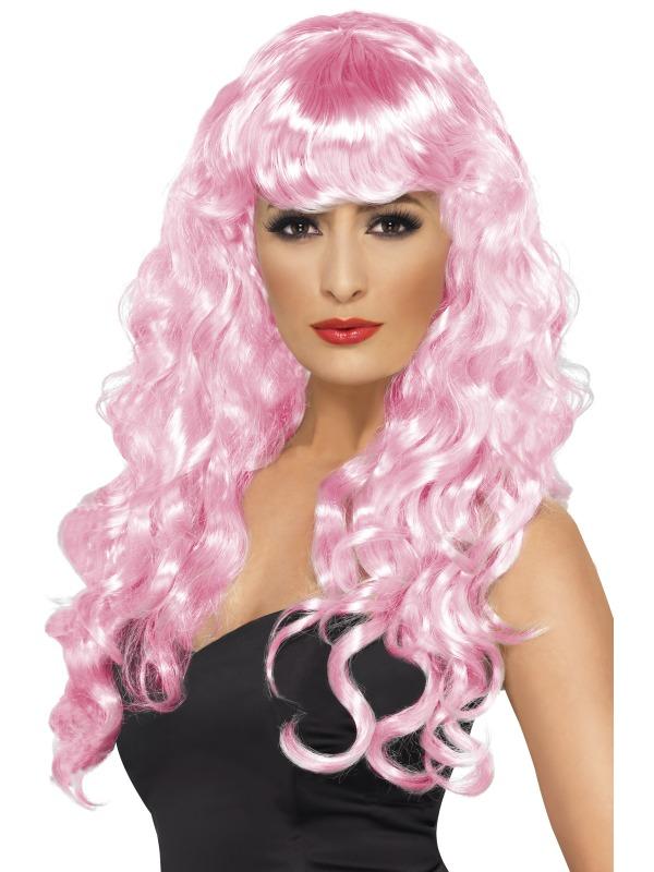 Siren Wig Pale Pink