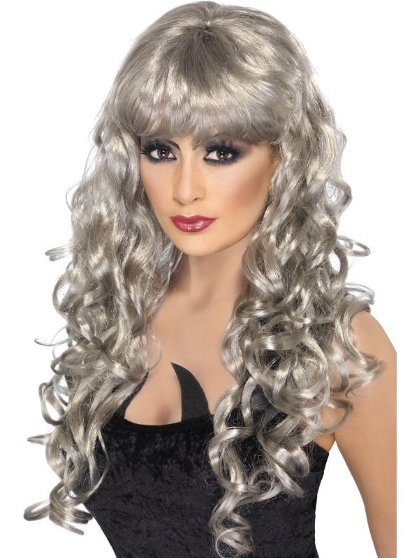 Siren Wig Silver