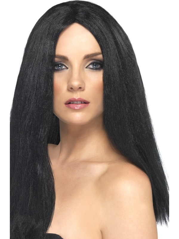 Star Style Wig Black