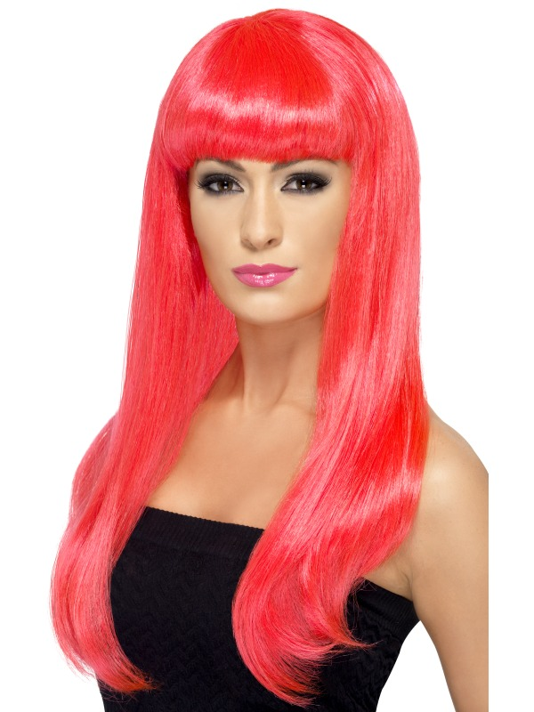 Babelicious Wig Neon Pink