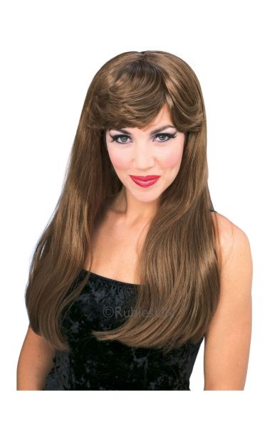 Glamour Fancy Dress Wig Auburn