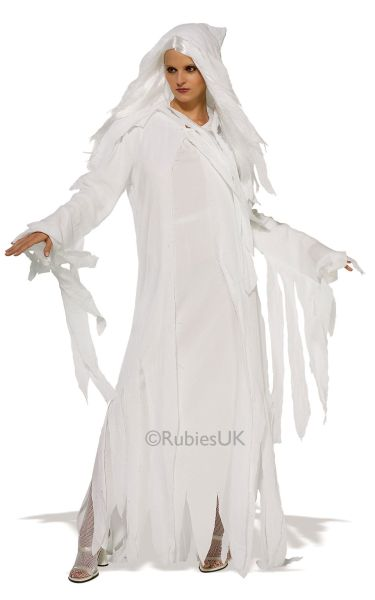 Ghostly Spirit Fancy Dress Costume