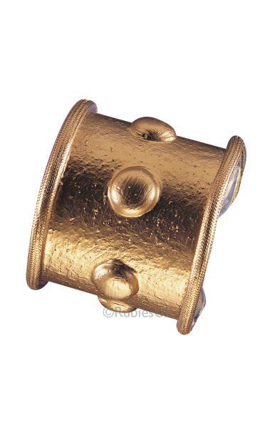 Goldtone Slave Armband