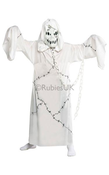 Kids Cool Ghoul Fancy Dress Costume