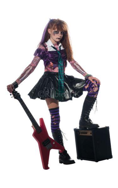 Girls Zombet Costume