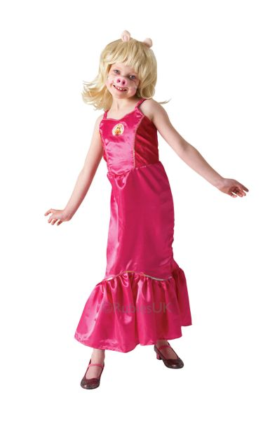 Deluxe Miss Piggy Fancy Dress Costume