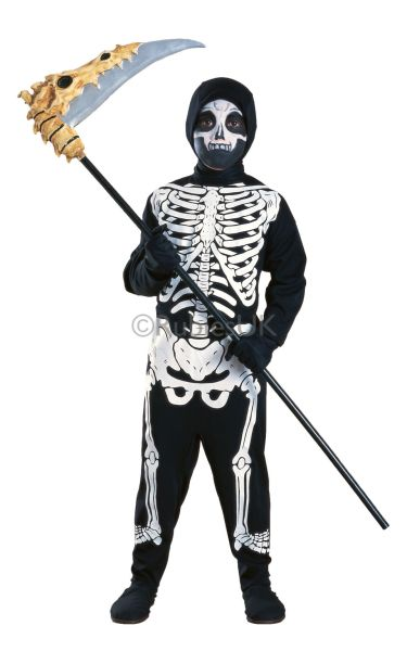 Skeleton Fancy Dress Costume