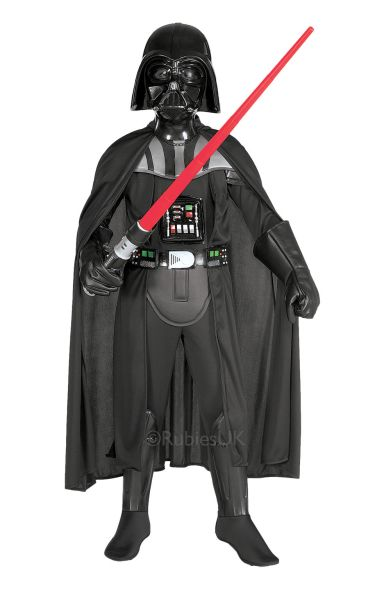 Deluxe Darth Vader Child Fancy Dress Costume