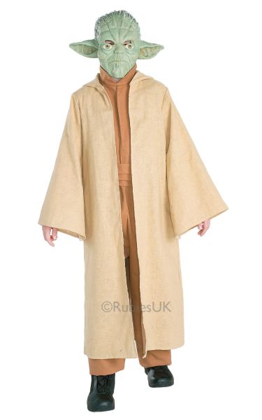 Boys Yoda Fancy Dress Costume