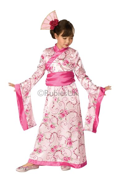 Girls Asian Princess Fancy Dress Costume