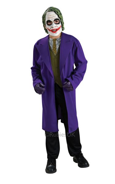 Kids Joker Fancy Dress Costume