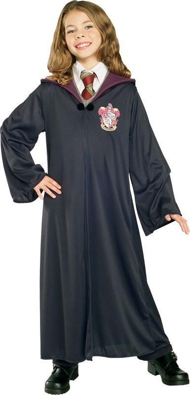 Kids Harry Potter Gryffindor Robe Fancy Dress Costume