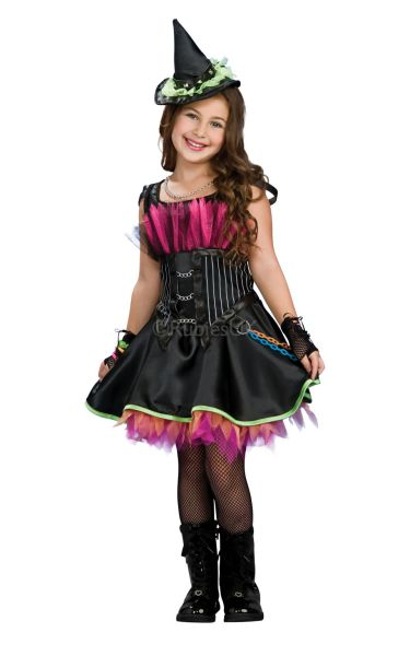 Rockin Out Witch Fancy Dress Costume