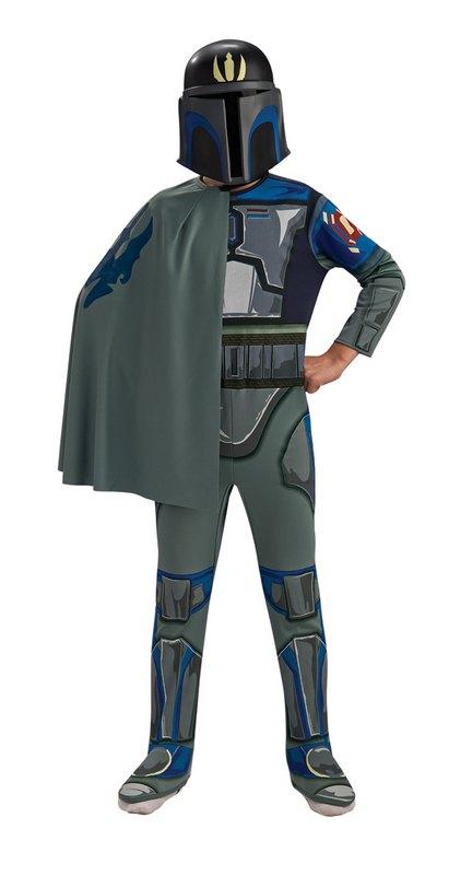 Boys Star Wars Pre Vizsla Fancy Dress Costume
