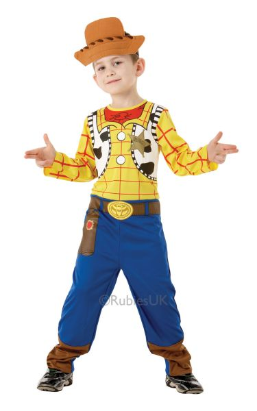 Boys Classic Woody Fancy Dress Costume