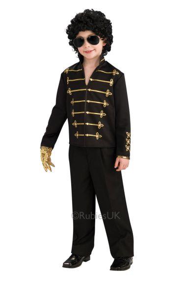 MJ Military Jacket Fancy Dress Costume