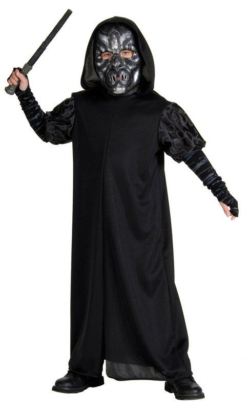 Kids Death Eater Fancy Dress Costume