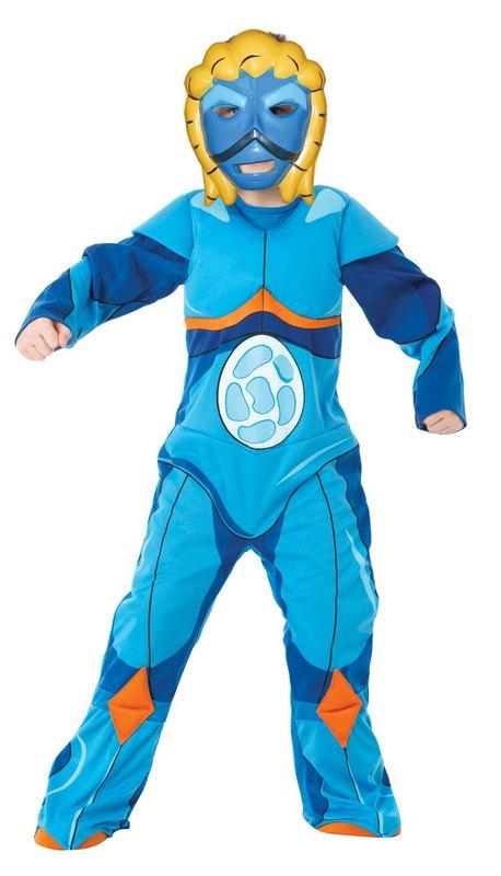 Kids Deluxe Gormiti Sea Fancy Dress Costume