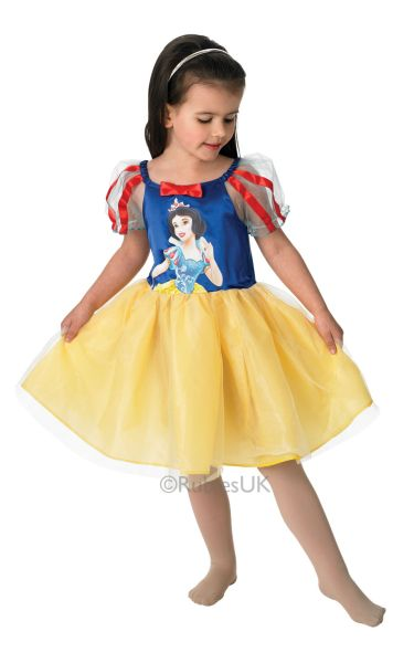 Snow White Ballerina Fancy Dress Costume