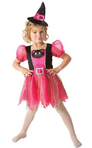 Kitty Witch Fancy Dress Costume