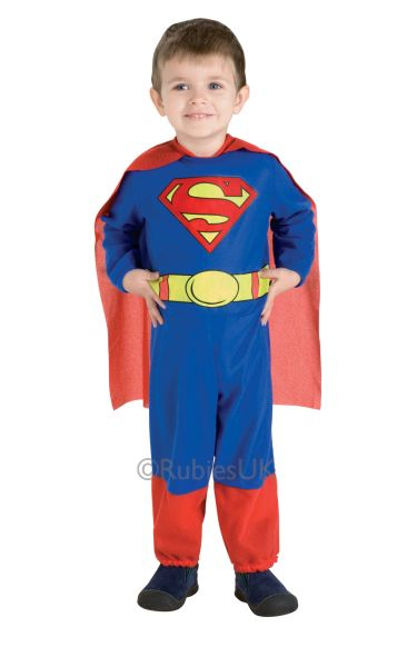 Boys Superman Fancy Dress Costume